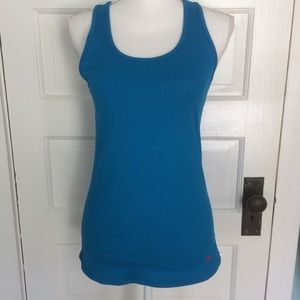 Under Armour Heat Gear Fitted Racerback Tank. L